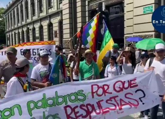 Manifestaciones en la ciudad